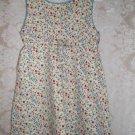 Toddler Girls Cotton Knit Floral Dress Size 3T