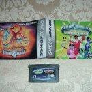 Power Rangers Ninja Storm and Time Force Bundle Game Boy Advance (GBA)