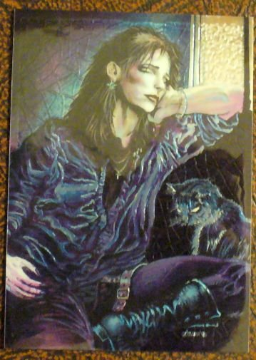 THE CROW (LIMITED EDITION INSERT CARD)
