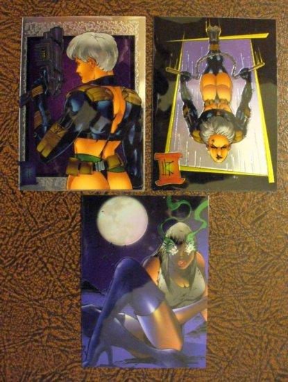 LONDON NIGHT 1997 HoloChromium Promo Card Lot