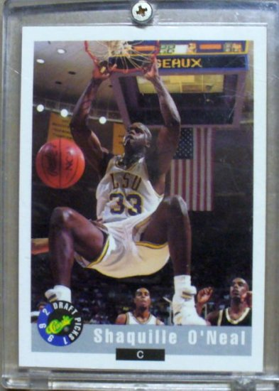 Shaquille O'Neal - 1992 Classic Draft Picks #1 (LSU)