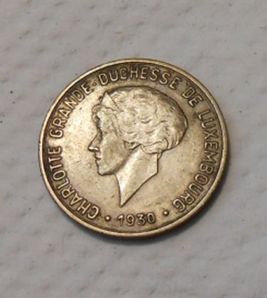 1930 Luxembourg 10 Centimes
