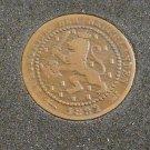 1882 Netherlands 1 Cent