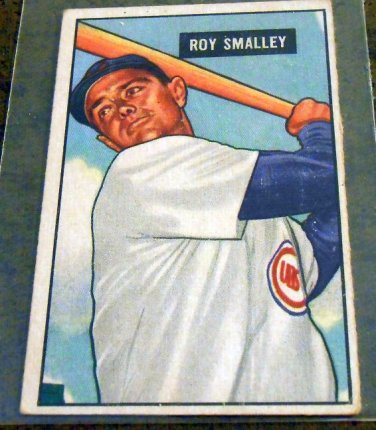 Roy Smalley - 1951 Bowman