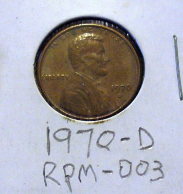1970-d rpm 003 Lincoln cent