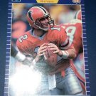 Chris Miller #35 1990 Pro Set Football Card NM