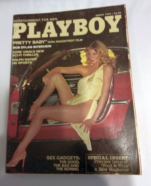 Playboy Magazine March 1978