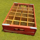 Vintage Coca Cola Wooden Crate 24 bottle