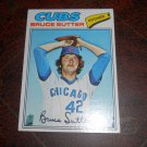 1977 TOPPS #144 BRUCE SUTTER ROOKIE