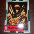 DEATHBLOW 1993 AEGIS ENTERTAINMENT IMAGE PROMO CARD