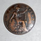 1912 ONE PENNY GREAT BRITAIN KING GEORGE COIN