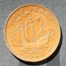 1940 Half Penny Great Britain