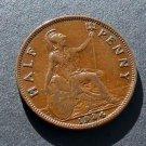 1934 Half Penny Great Britain