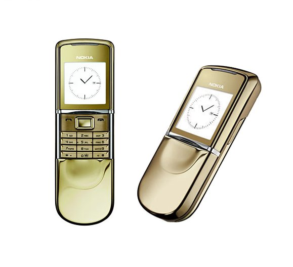 UNLOCKED Nokia 8800 Sirocco 18K Gold - SALE -