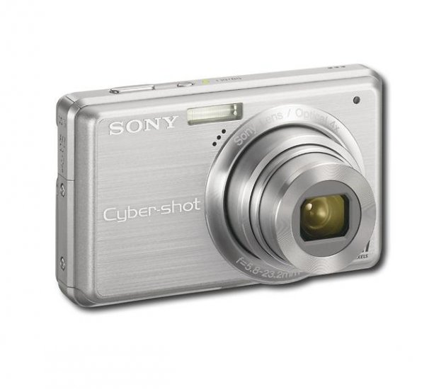 Sony - Cyber-shot 10.1-Megapixel Digital Camera - Silver