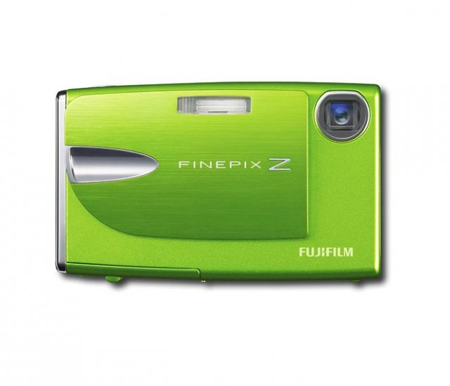 FUJIFILM - FinePix 10.0MP Digital Camera - Kiwi Green ! SALE !