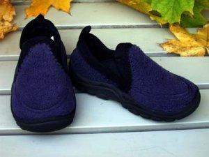 Toddler Boys Slippers Navy  Size 6
