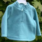 Infant/toddler Fleece Top Old Navy Turquoise 6-12 mo.