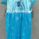 """""""Frozen"""" Elsa Dress-up Dress Sleepwear Costume Size S 6/6X"""