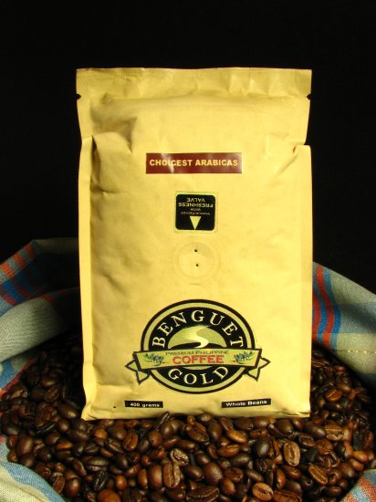 Benguet Philippine Whole Bean Arabica Coffee