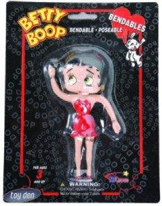 BETTY BOOP 5 inch BENDABLE