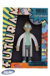 FUTURAMA-PROFESSOR FARNSWORTH BENDABLE, POSEABLE FIGURE