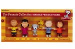.PEANUTS-SET OF SIX BENDABLES IN COLLECTOR'S EDITION BOX SET
