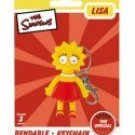 SIMPSONS-LISA SIMPSON BENDABLE POSEABLE FIGURE KEYCHAIN