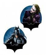 BATMAN-DARK KNIGHT BATMAN and JOKER SET of 2 Magnets