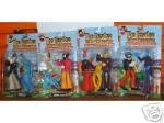 BEATLES-YELLOW SUBMARINE SET OF (4) ACTION FIGURES