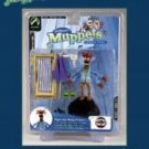 "MUPPETS-SERIES FIVE PEPE THE KING PRAWN 6"" ACTION FIGURE"