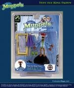 """MUPPETS-SERIES FIVE PEPE THE KING PRAWN 6"""" ACTION FIGURE"""