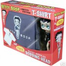 BETTY BOOP- LIMITED EDITION T SHIRT/BOBBLEHEAD GIFTSET