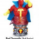 RED TORNADO - JUSTICE LEAGUE MINI STATUE  /  PAPERWEIGHT by Monogram