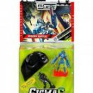 G.I. JOE SIGMA 6 MISSION: NINJA NIGHT PARACHUTE With 2 Figures