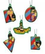 The Beatles Yellow Submarine Mini Christmas Ornament Box Set of 5