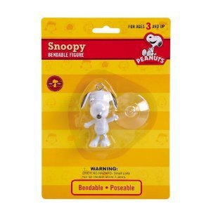 Peanuts - Snoopy Bendable Figure with Suction Cup
