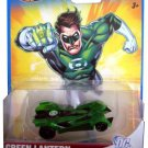 HOT WHEELS DC UNIVERSE GREEN LANTERN 1:64 SCALE COLLECTIBLE DIE CAST CAR