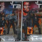 TERMINATOR 2 - T2 SET of (2) ACTION FIGURES