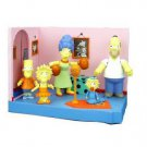 SIMPSONS-ORIGINAL (5) SIMPSONS ACTION FIGURE SET IN BOX