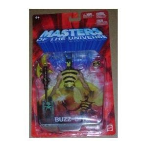 Masters of the Universe Buzz-Off Figure Mattel Red Card
