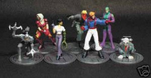 WILDCATS BOXED SET OF 7 PVC FIGURES