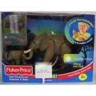 Fisher Price Wild Adventures Elephant and Baby