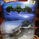 BATMAN 1:50 SCALE BATMAN FOREVER BATMOBILE  HOT WHEELS
