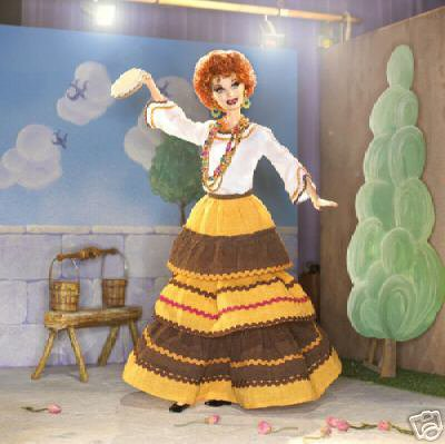 """BARBIE-AS LUCILLE BALL FROM """"THE OPERETTA"""""""
