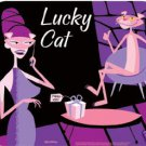 PINK PANTHER - 40th ANNIVERSARY LUCKY CAT MOUSEPAD