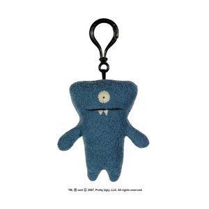 UGLY DOLL -  Uglydoll Wedgehead   Plush Mini Keychain Clip-On 4 inch