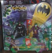BATMAN BATTLE ARMOR & JOKER QUICK FIRE SETof (2) ACTION FIGURES
