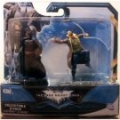BATMAN-DARK KNIGHT RISES 2 PACK BATMAN VS BANE mini ACTION FIGURES