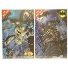 BATMAN Set of  TWO METAL WALL SIGNS by Tin Box Co.